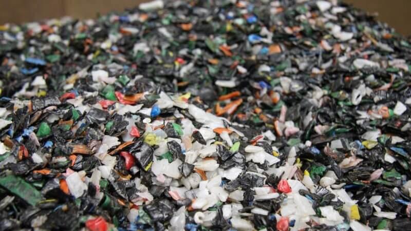 genanvendt plast