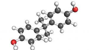 bisphenol a - molekyle