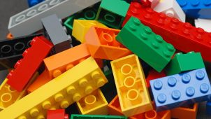 ABS teknisk plast lego