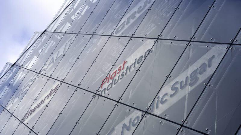 Plastindustrien Industries Hus facade