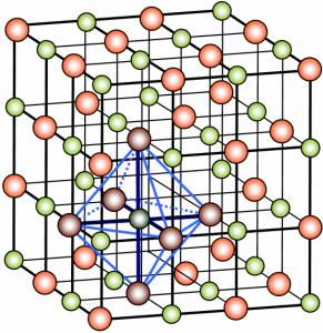 krystallinske - gitterstruktur