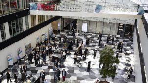 Industriens Hus var udsmykket til lejligheden, da Plastdagen 2016 blev afholdt.