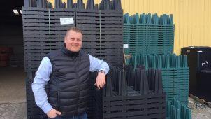 Ejer og adm. direktør i Nyrup Plast - Rasmus Mørkenborg - er oprindelig uddannet kloakmester, hvilket giver ham en stor fordel i det daglige arbejde.