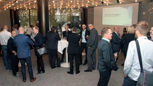 Omkring 50 plastfolk deltog, da Plastindustrien inviterede til dansker-event på K Messen i Düsseldorf.