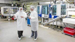 Knudsen Plast produktion