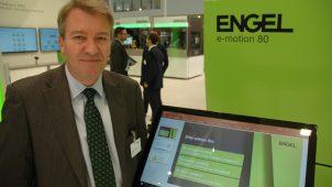 Jens Thor Hansen, ny formand for maskinsektionen og administrerende direktør for Engel Danmark A/S, ses her på årets K-messe.