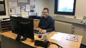 Jesper Vinther, fabrikschef i ScanBelt, er meget tilfreds med virksomhedens forsikringsaftale med Codan, der er blevet særligt attraktiv gennem Plastindustriens brancheordning.