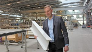 Torben Rønlev, vice president building & construction hos Fiberline Composites