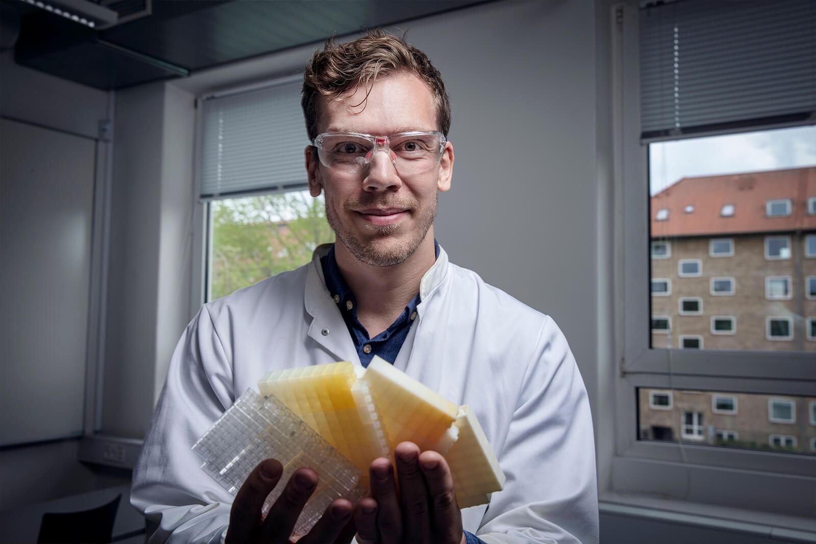 Kemiingeniør og ph.d.-studerende Emil Andersen