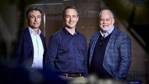 Direktionen i MELITEK A/S består af (fra venstre) direktør og ejer Kim Laursen, fabriksdirektør Simon Lie og forretningsdirektør og ejer Jesper Laursen.