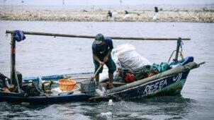 ReSea Project indsamler plast fra de indonesiske have