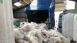 Vesthimmerland Kommune har indsamlet store mængder plast