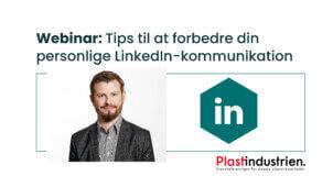 Lars Hall Bæk Farsøe, kommunikationschef i Plastindustrien