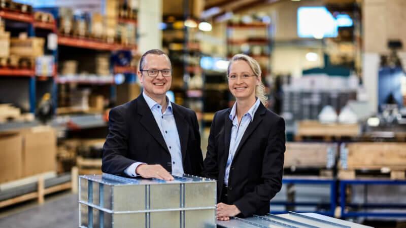 BM Silo Claus Martinsen Owner/CEO og Dorte Zacho Martinsen